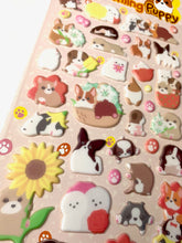 Load image into Gallery viewer, 40795 CHARMING PUPPY PUFFY STICKERS -12