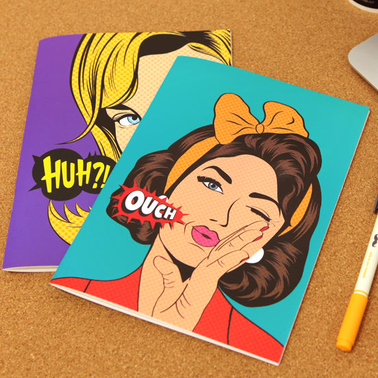 41058 POP ART NOTE BOOK-12