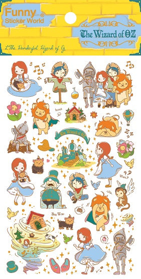 41570 WIZARD OF OZ PVC Sticker-12