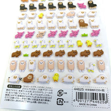Load image into Gallery viewer, 44625 LLAMA PUFFY PETIT MOTCHIRI SEAL STICKERS -10