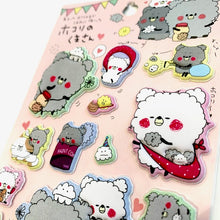 Load image into Gallery viewer, 46381 KAMIO CAT PUFFY STICKERS - 10