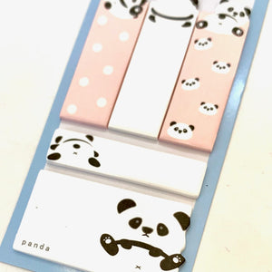 50064 PANDA STICKY NOTES SET-10