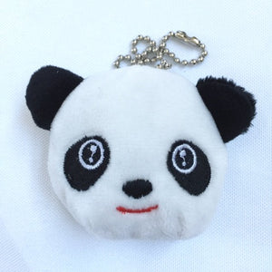 630541 2 inch PANDA HEAD PLUSH KEYCHAIN-10