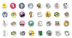 66314 ROCKER CAT BADGE-12