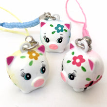 Load image into Gallery viewer, 70541 FLOWER PIG BELL-10