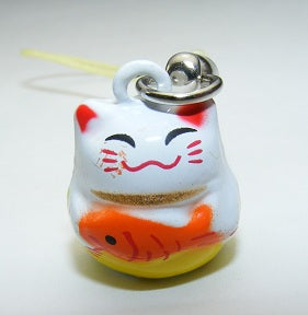 70587 CAT WITH FISH BELL-10