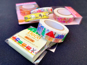 71071 JAPANESE WASHI TAPES - 20 ASSORTED DESIGNS