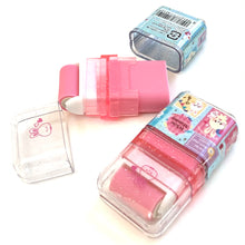 Load image into Gallery viewer, 71401 KAMIO ROLLER SCENTED ERASER-PINK-WHITE MIMMY RABBIT-10 pieces
