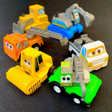 Load image into Gallery viewer, 72010 6 PLASTIC PULLBACK TRUCKS IN A BAG-12 BAGS