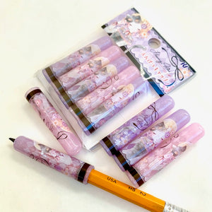72076 Kamio Flowerkiss Pencil Caps-10