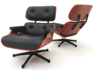 75120 Lounge Chair-1 piece-Black. No ottoman-1 chair