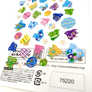 75220 BIRDS STICKERS-10
