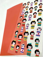 Load image into Gallery viewer, 76682 KOKESHI STICKER-10