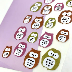 76689 OWL STICKER-10