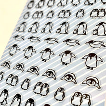 Load image into Gallery viewer, 77385 PENGUIN CLEAR STICKER-10