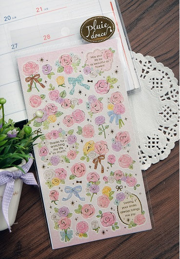 77815 Pink Flower Stickers-10