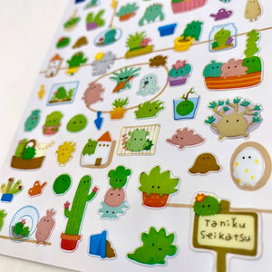 78240 CACTUS CLEAR STICKER-10