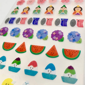 78390 NIPPON SEASONS STICKERS-10