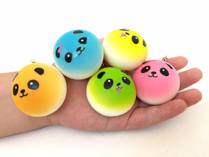 83015 SQUISHY PANDA-Small-Assorted 1.75 inch-12