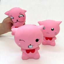 Load image into Gallery viewer, 83187 PINK CAT SQUISHY. Slow and soft-4.5 inch-6