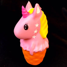Load image into Gallery viewer, 83290 UNICORN ICE CREAM CONE SQUISHY-6