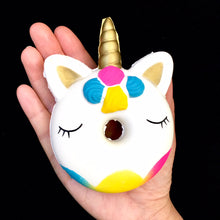 Load image into Gallery viewer, 83299 UNICORN DONUT SQUISHY-10