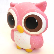 Load image into Gallery viewer, 83311 SMALL PINK OWL SQUISHY-slow soft-10