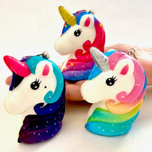 Load image into Gallery viewer, 83323 UNICORN HEAD SQUISHY-12