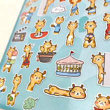 Load image into Gallery viewer, 85030 GIRAFFE FLAT STICKERS-10