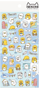 85032 DUCK FLAT STICKERS-10