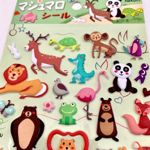85036 ANIMAL PUFFY STICKER-10