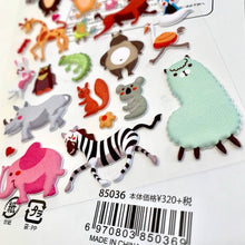 Load image into Gallery viewer, 85036 ANIMAL PUFFY STICKER-10