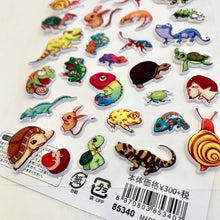 Load image into Gallery viewer, 85340 REPTILE PUFFY STICKER-DISCONTINUED