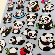 Load image into Gallery viewer, 85341 PANDA PUFFY STICKER-10