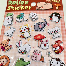 Load image into Gallery viewer, 85342 ANIMALS PUFFY STICKER-10