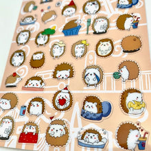 Load image into Gallery viewer, 85351 HEDGEHOG FLAT STICKER-10