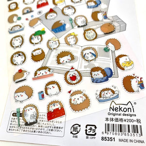85351 HEDGEHOG FLAT STICKER-10