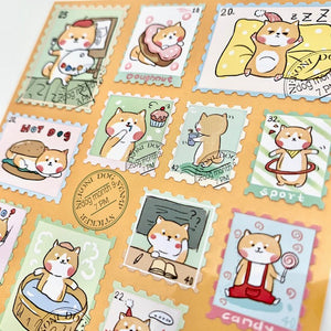 85474 DOG POST 4 NEKONI STICKERS -10