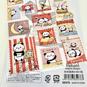 85476 PANDA POST NEKONI STICKERS -10