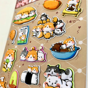 85537 PUPPY PUFFY STICKERS-10