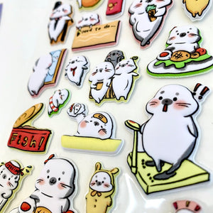 85539 SEAL PUFFY STICKERS-10