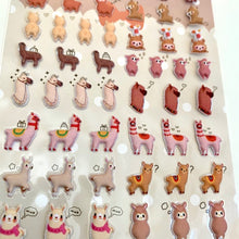 Load image into Gallery viewer, 85543 LLAMA TINY PUFFY STICKERS-10