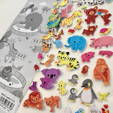 Load image into Gallery viewer, 85679 ANIMAL PUFFY STICKER-10