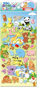 85679 ANIMAL PUFFY STICKER-10