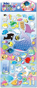 85685 AQUARIUM PUFFY STICKER-10