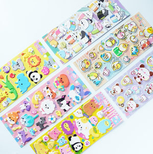 85687 PANDA PUFFY STICKER-10