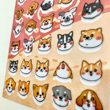 Load image into Gallery viewer, 85788- DOG HEAD STICKERS -10
