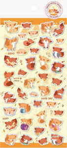 85809 FOX FLAT STICKERS-10