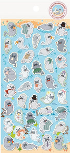 85810 SEA LION FLAT STICKERS-10