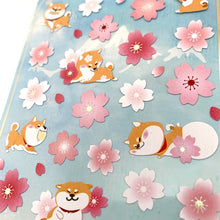 Load image into Gallery viewer, 85919 SAKURA & DOG FLAT STICKERS-10